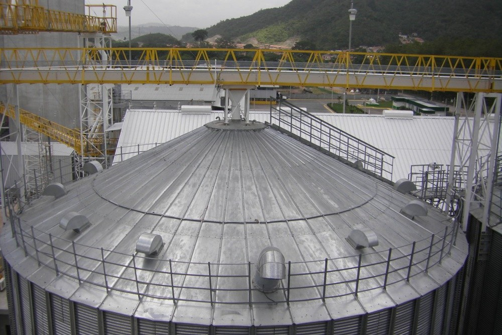 Kaniwa Grain Bunker Silos Malting Tank Bin Aerator Buy