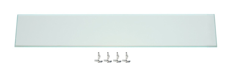 Medicine Cabinet Storage Shelf: Add Space or Replace KOHLER Shelf- Complete w/Shelf Clips; Ocin Bathroom Toiletry Storage Shelf with Shatterproof Acrylic Plastic Design! (K16)