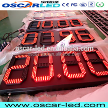 led digital price number board led display 10 inch gas station led sign/8'' 12'' 18''led gas price display