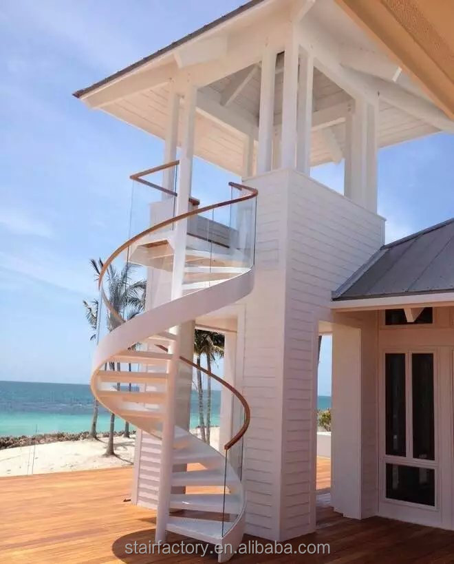 Prefabricated Glass Spiral Stairs, Prefabricated Glass Spiral Stairs  Suppliers And Manufacturers At Alibaba.com