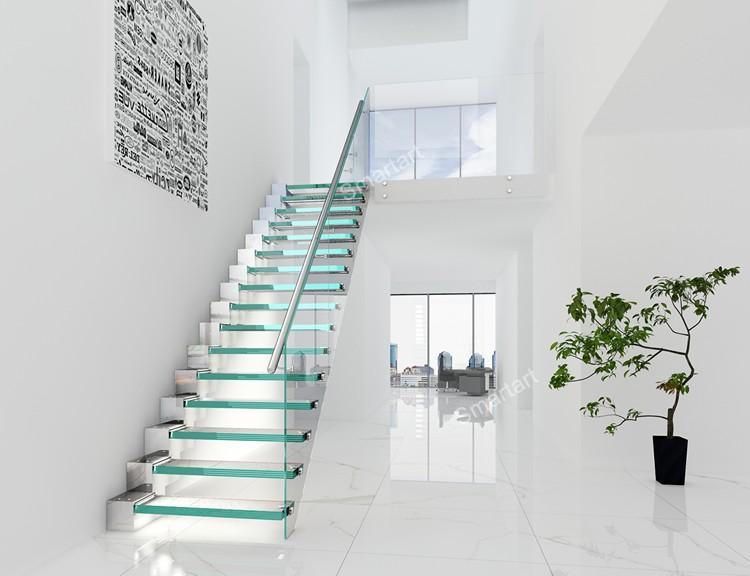 Drijvende trap glas trap bouwen drijvende trap buy led licht