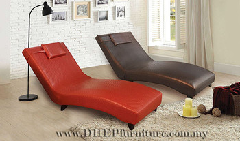 Adjustable Back Rest Relaxing Chair Chaise Lounge With