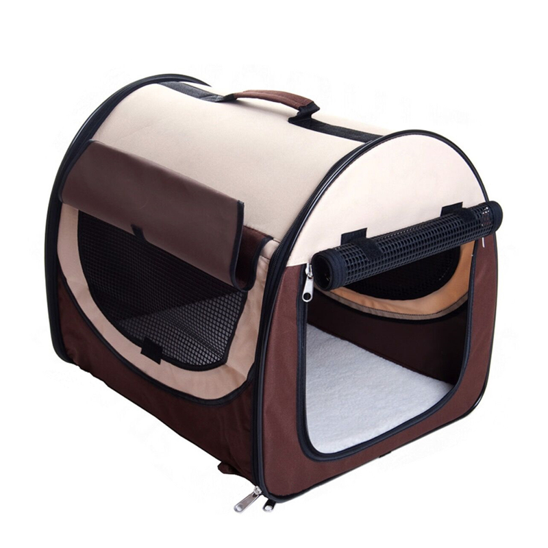 High Quality Airline Approved Pet Carriers W/ Fleece Bed For Dog & Cat