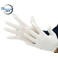 New product dental gloves powder free diamond grip latex made in malaysia