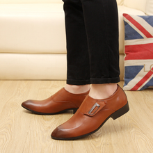 DL10222A 2017 newest leather shoes men loafer dress shoes