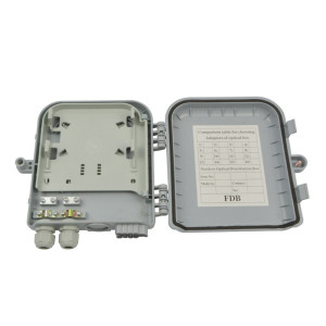 Outdoor FTTH Fiber Optic Terminal Distribution Box With 1x8 1x12 1x16 1x32 PLC Splitter Junction Box