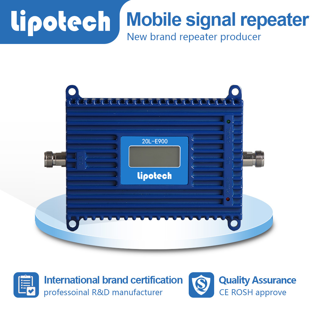New design LCD screen Egsm repeater,best solution for 880MHZ signals,mobile signal repeater