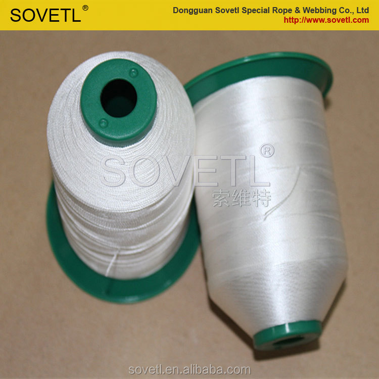 High tenacity abrasion resistant uhmwpe filament thread for hand knitting
