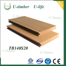 WPC Decking Floor Hollow Solid Outdoor Board Wood Plastic Composite Decking  DIY High Quality Outdoor Decking