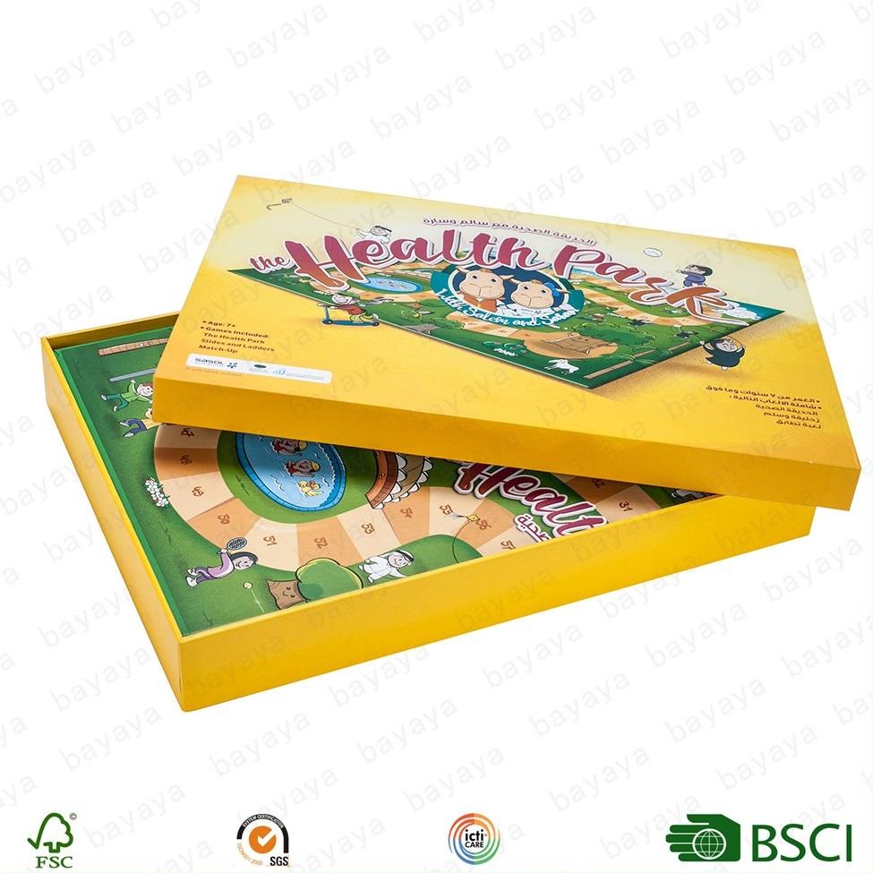 高品質卸売工場価格カスタムタロットカードとフリップボックス