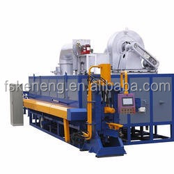 1100 T Aluminum Billet Heating Furnace with Hot Log Shear in Aluminum Extrusion Machine