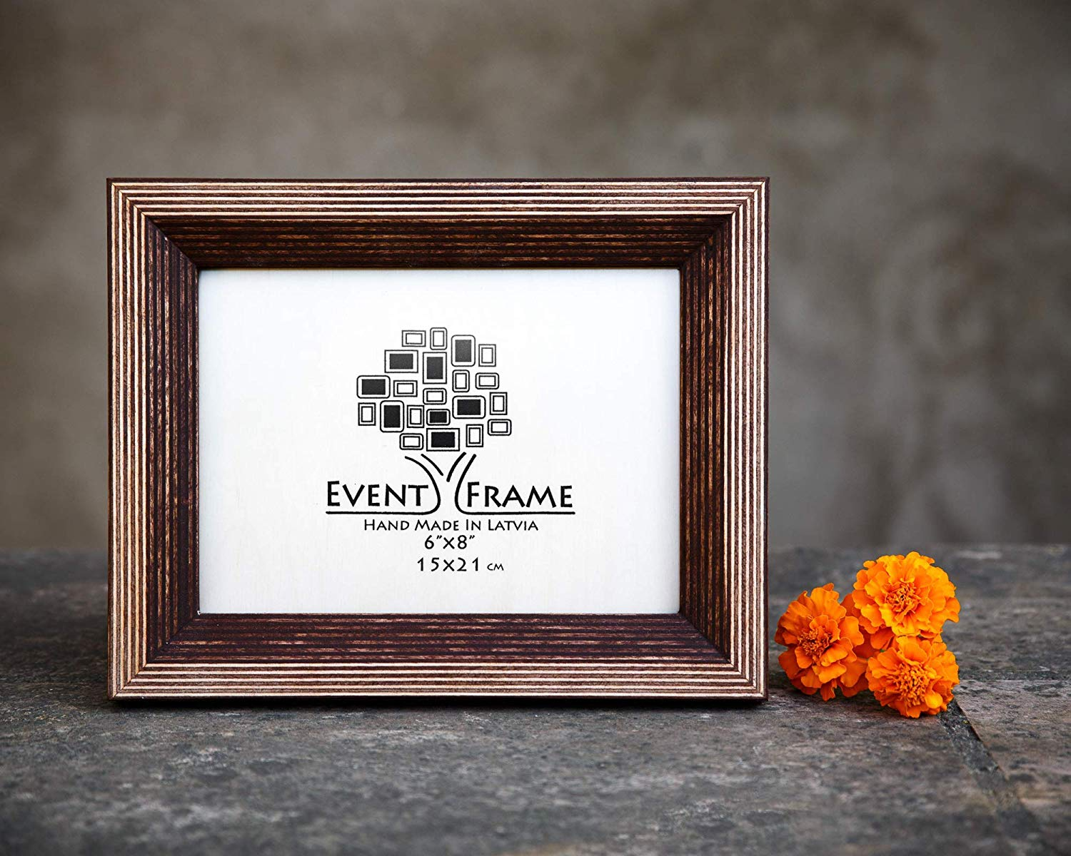 Brown Picture Frame, Wood Photo Frame, Rustic frames, CHOOSE SIZES, 4x4 4x6 5x5 5x7 5.5x8.5 6x6 6x8 7x7 7x9 8.5X11 8x8 8x10 10x10 8x12 11X14