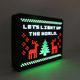 Led cinema lightbox light up diy message peg board with letters