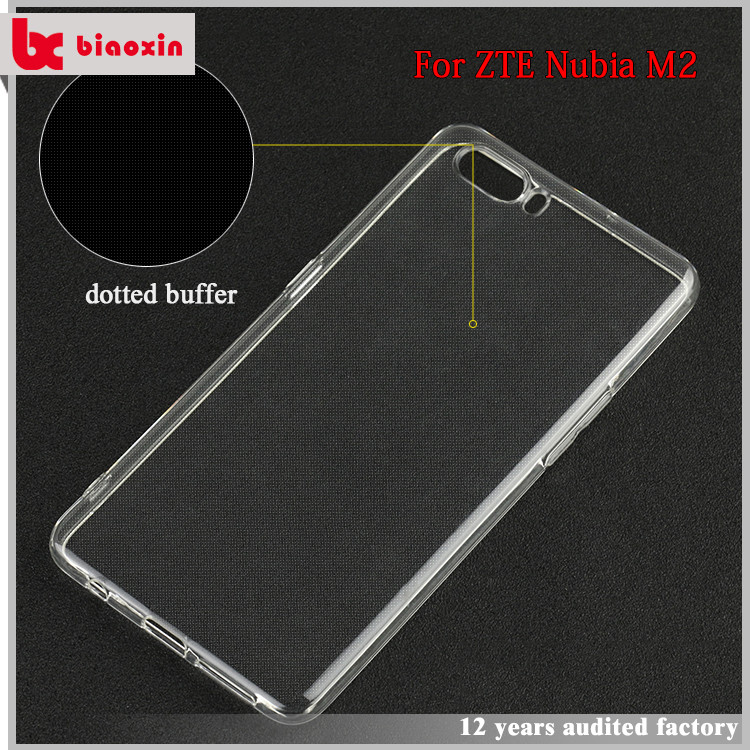 Attractive appearance TPU case for ZTE Nubia M2