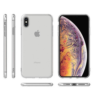 ultra thin transparent TPU soft mobile Phone case back cover case clear for iphone xs max