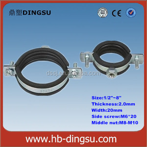 New products on china market steel pipe clip with high quality