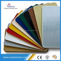ACM wall panel aluminum facing sheet ACP