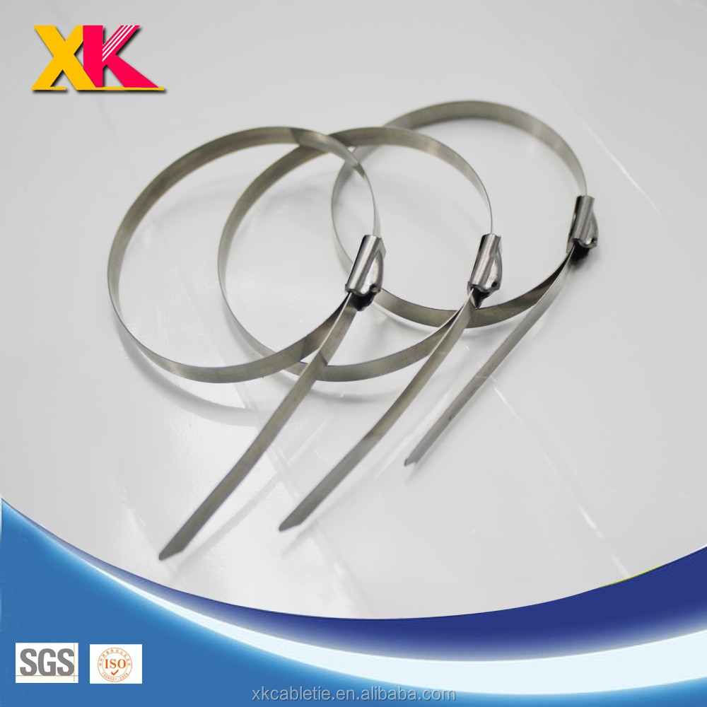 SUS201,SUS304,SUS316 100pcs 4.6mmx200mm STAINLESS STEEL ZIP CABLE TIES LOCK TIE WRAP