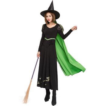 best selling cool adult female vampire witch halloween costumes with stand collar