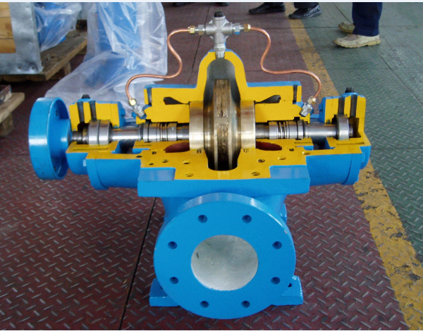 Axial Flow Propeller Pumps : Electric power and axial flow pump single stage