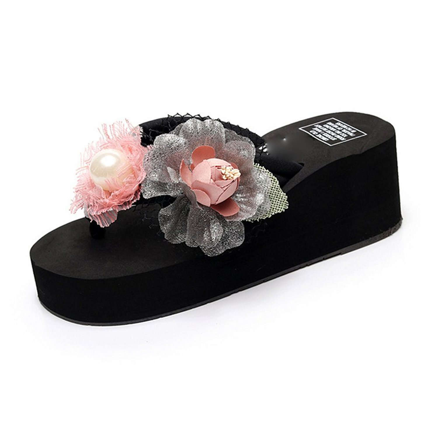 MET RXL Lady,Summer,Slippers//Leisure,Wedges,Thick-Soled,A-line Slipper