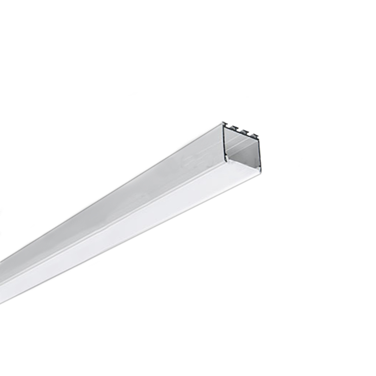 Hot OEM anodized extruded triangle aluminum profile for led strip