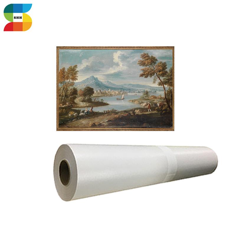 Custom 230g Inkjet Polyester Matte Art Canvas Roll Print