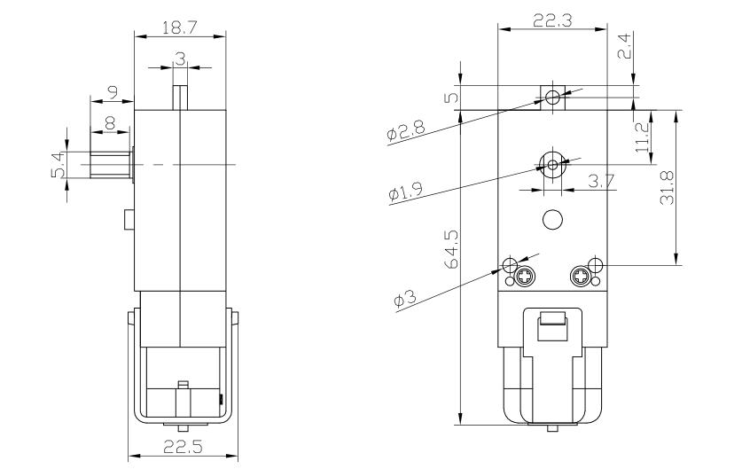 1.5 v 3 v 4.5 v mini dc đồ chơi động cơ với giảm nhựa hộp số dùng cho đồ chơi/đồ chơi xe hơi /robot
