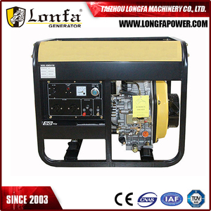 100% Copper Wire Small Diesel Generator Open Type, 3kw 5kw Portable Diesel Generator, 178f Diesel Engine Generator