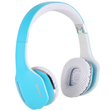 High degree of separation and full stereo feeling bass wireless custom headphones with cool color and key operation