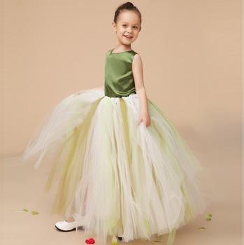d775d951b Fiesta para niños Tutu Maxi vestido para bebé niñas lindo al por mayor los niños  tul