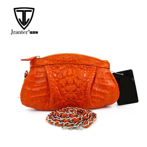 fashion women genuine leather handbag crocodile bag clutch bag shoulder bag