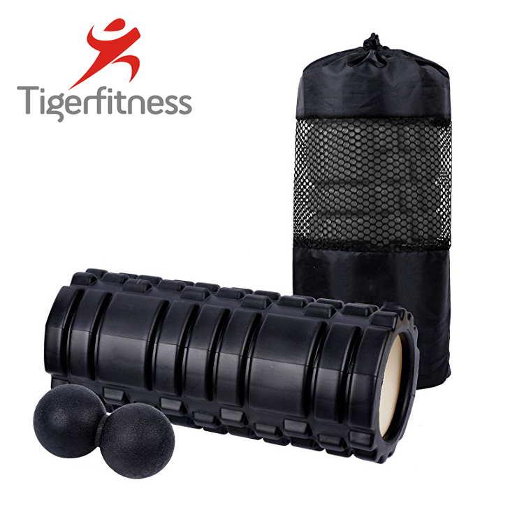 Tiger Fitness wholesale foam roller kit with muscle roller stick