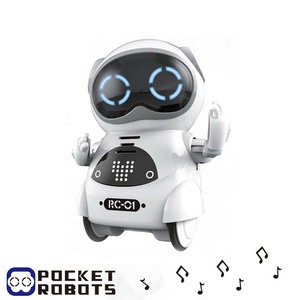 mini robot gift kids toy voice interactive control robot with flexible joints