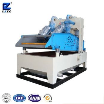 LZ12-55 High efficient sand recycling machine, with cyclone and polyurethane screen