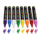 Best Price Waterproof water based fine permanent marker pens for plastic