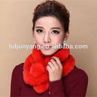 women fashion scarf with pocket and hat with fur pompoms/rabbit fur snood/genuine knitted rabbit fur scarf