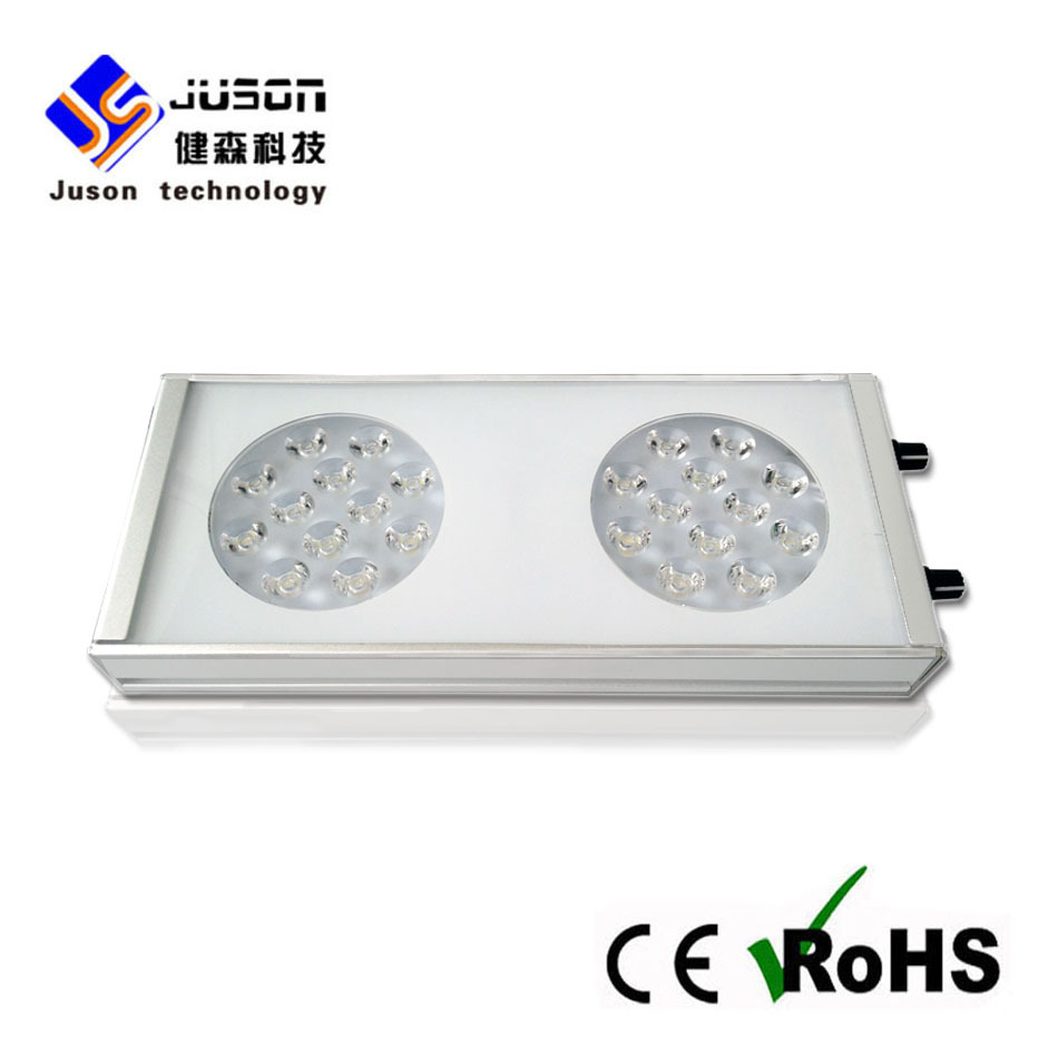 Wholesale 72W to 288W intelligent led aquarium lighting fit for 300-1500mm fish tank