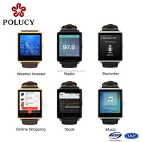 China factory custom screen touch android smart watch with multifuction available