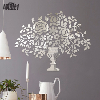 Acrylic Wall Mirror tree mirror wall art decor in acrylic for house decoration - buy