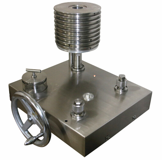 China manufacturer Hydraulic Dead-Weight Tester 0-700 BAR