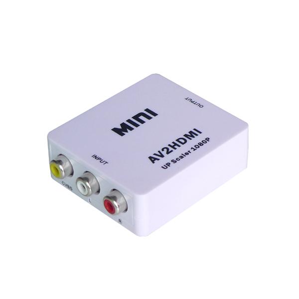 Mini Size Av To Hdmi Converter Rca To Hdmi Converter 3rca To Hdmi Converter 1080p - Buy Av To Hdmi Converter,Av To Hdmi,Rca To Hdmi Converter Product on Alibaba.com