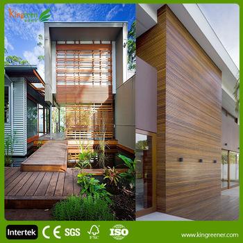 Outdoor Wpc Wandholz Im Außenbereich Wandverkleidung Holzplatten