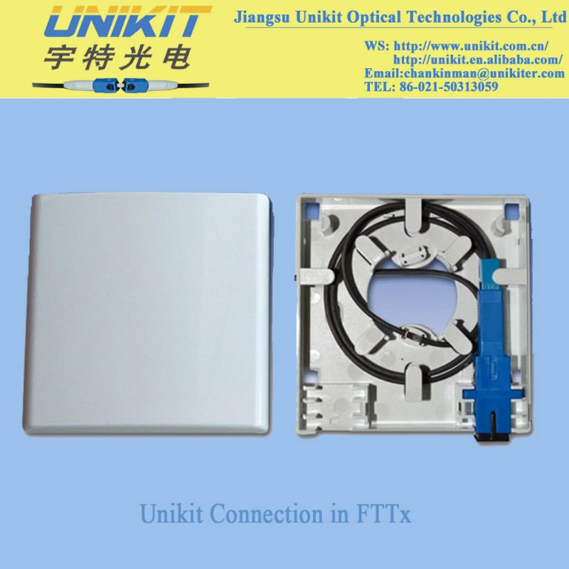 Unikit Optical Socket FTTH Outlet