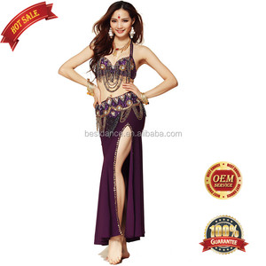 BestDance Hot sale sexy Arabic adult belly dance wear, professional design belly dancing fringe costume outfit