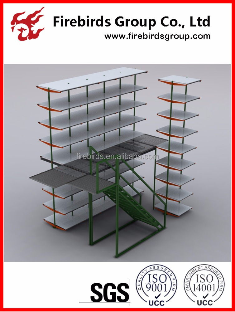 Storage Warehouse High quality Ral standard Mezzanine floor Rack
