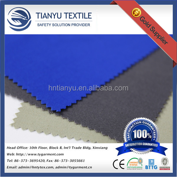 cotton fabric distribution China manufacturers for workwear