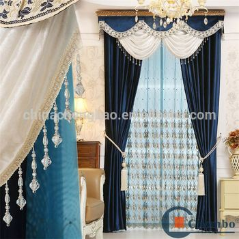 Fancy Valance Decoration Church Curtains