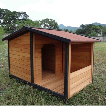 Sdd011 High Quality With Porch Wooden Luxury Outdoor Dog House View