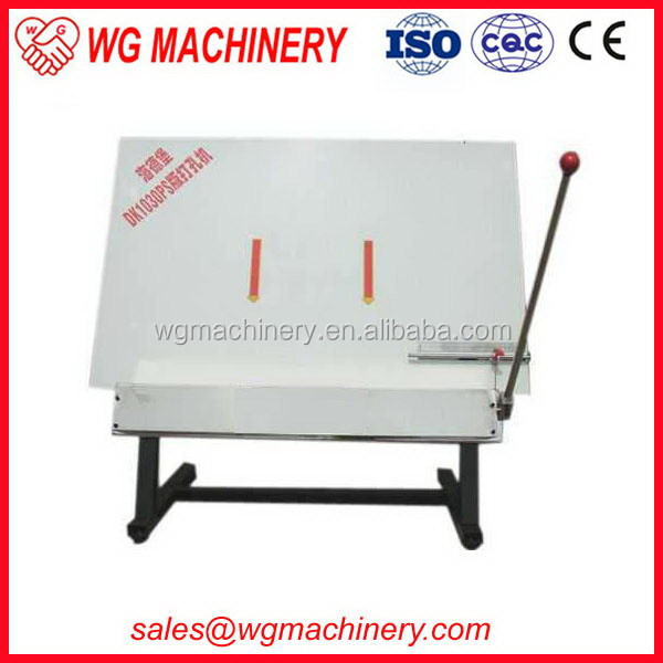 Efficient hot selling punching plate v grooving machine